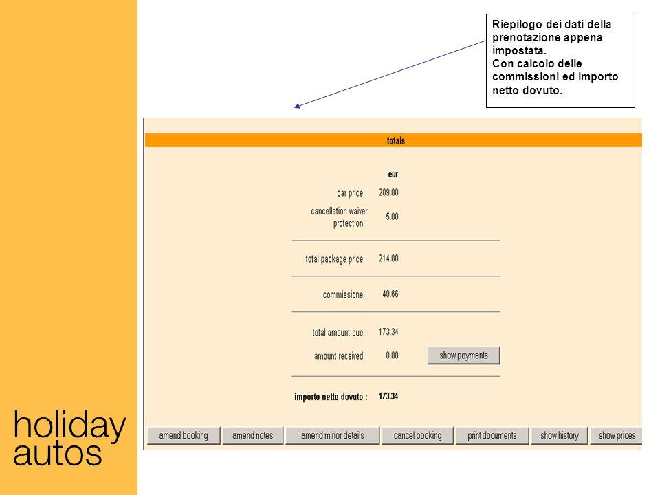 Ciccare qui per sottoscrivere lassicurazione contro le spese di annullamento (5 euro)