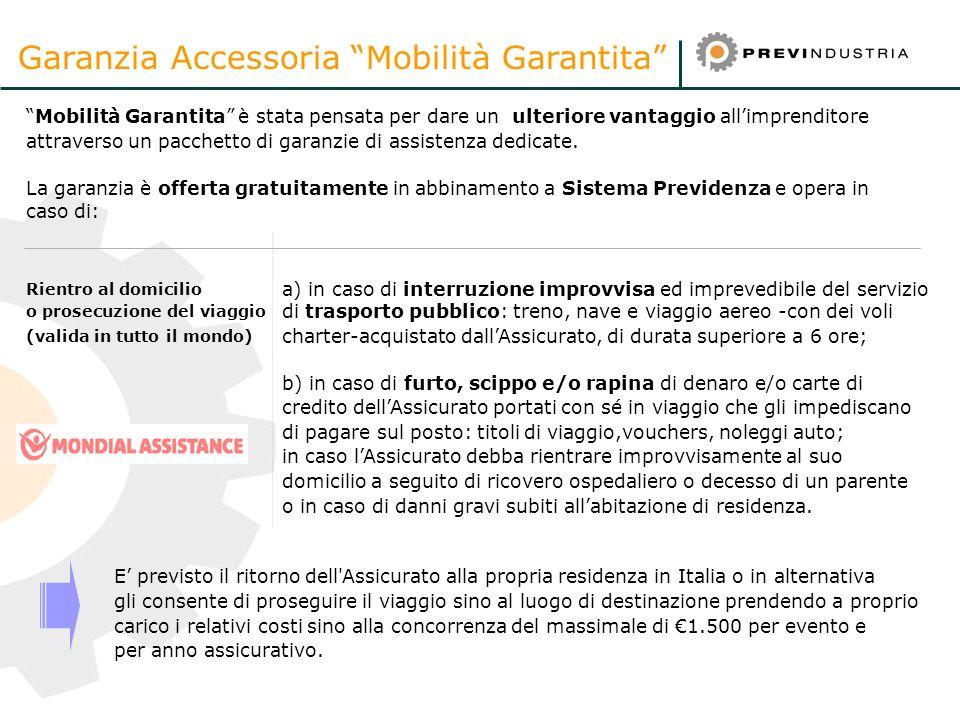 23 Mobilità Garantita è stata pensata per dare un ulteriore vantaggio allimprenditore attraverso un pacchetto di garanzie di assistenza dedicate. La g