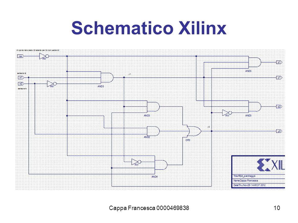 Cappa Francesca 000046983810 Schematico Xilinx