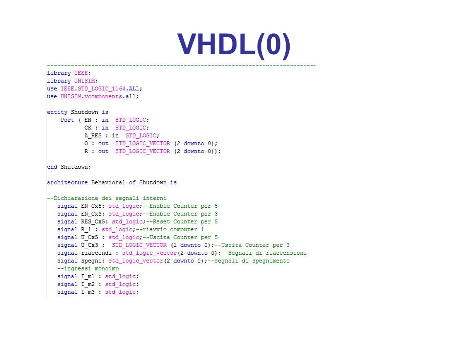 VHDL(0)