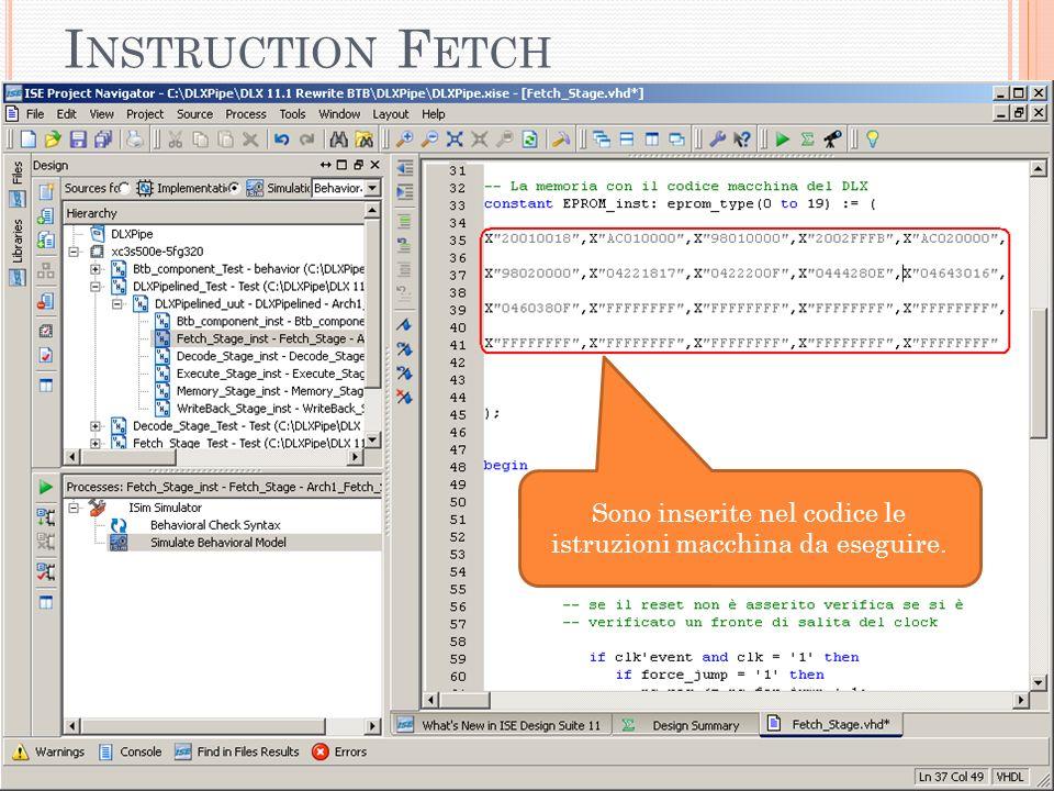 I NSTRUCTION F ETCH (F ILE F ETCH _S TAGE.