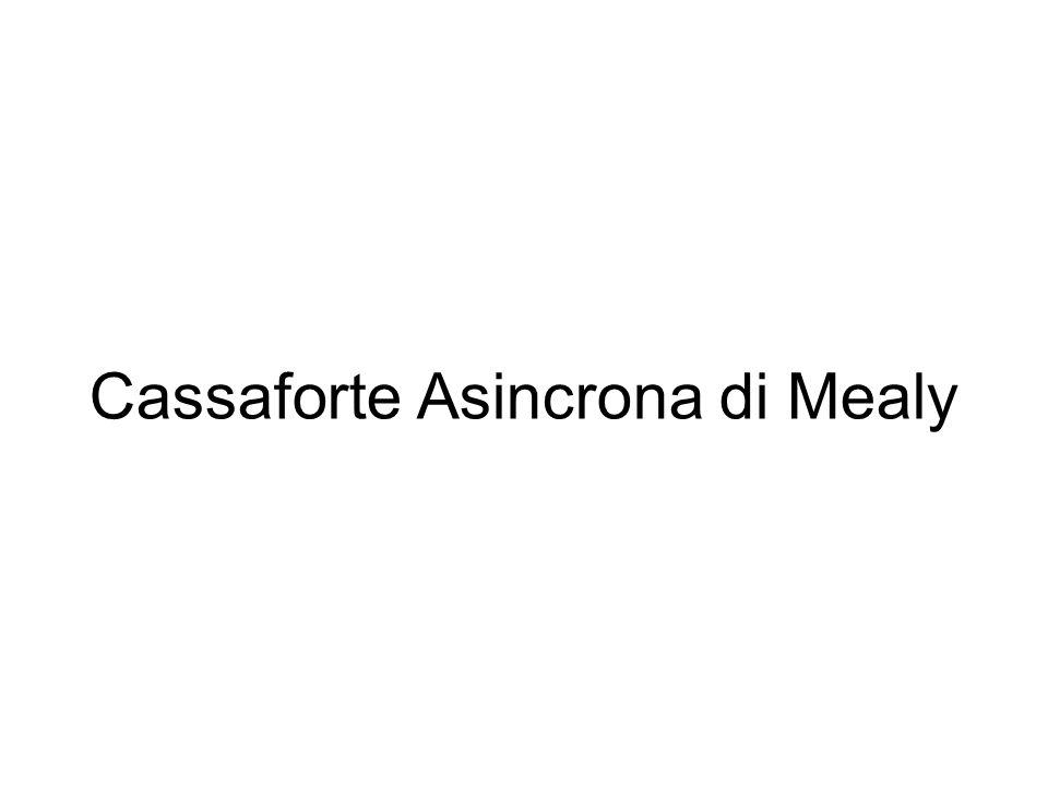 Cassaforte Asincrona di Mealy