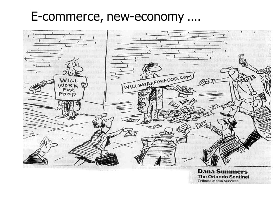E-commerce, new-economy ….