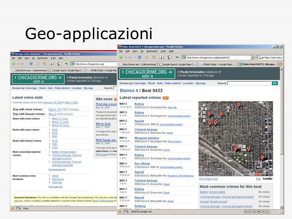 Geo-applicazioni