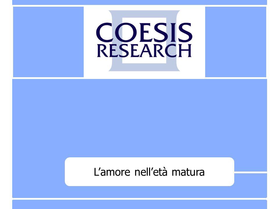 20 Coesis Research – C 2008071 Famiglia Cristiana – Lamore nelletà matura Base: totale campione - 401 casi D.