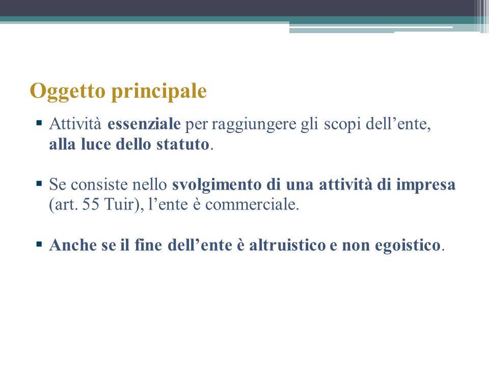 … Associazioni promozione sociale (art.148, comma 5).