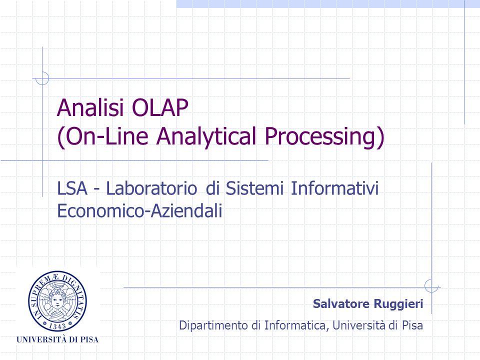 Analisi multidimensionale Lab.