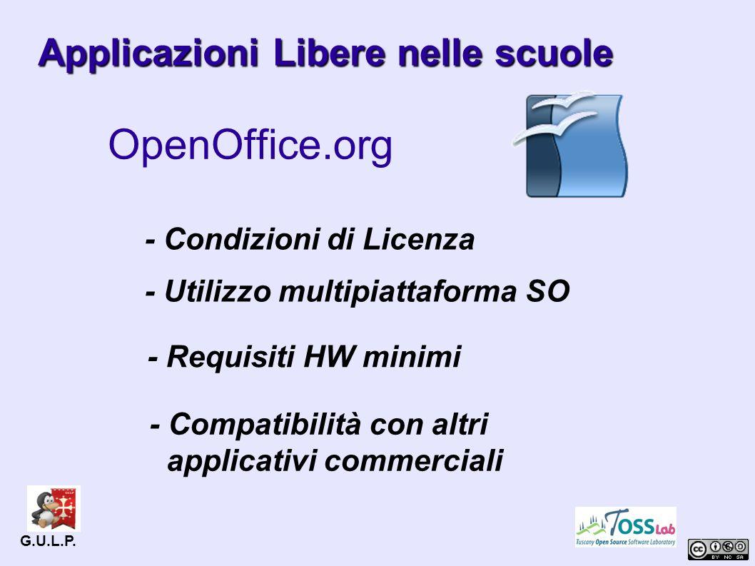 Applicazioni Libere nelle scuole OpenOffice.org G.U.L.P.