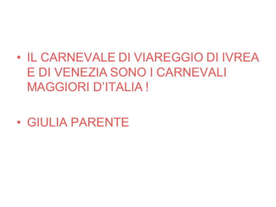 In questepoca, e per molti secoli che si succedettero, il Carnevale durava sei settimane, dal 26 dicembre al Mercoledì delle Ceneri, anche se i festeg