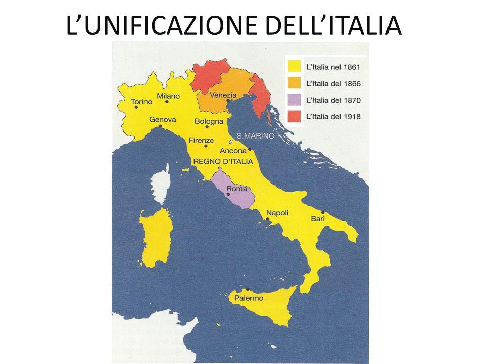 LUNIFICAZIONE DELLITALIA