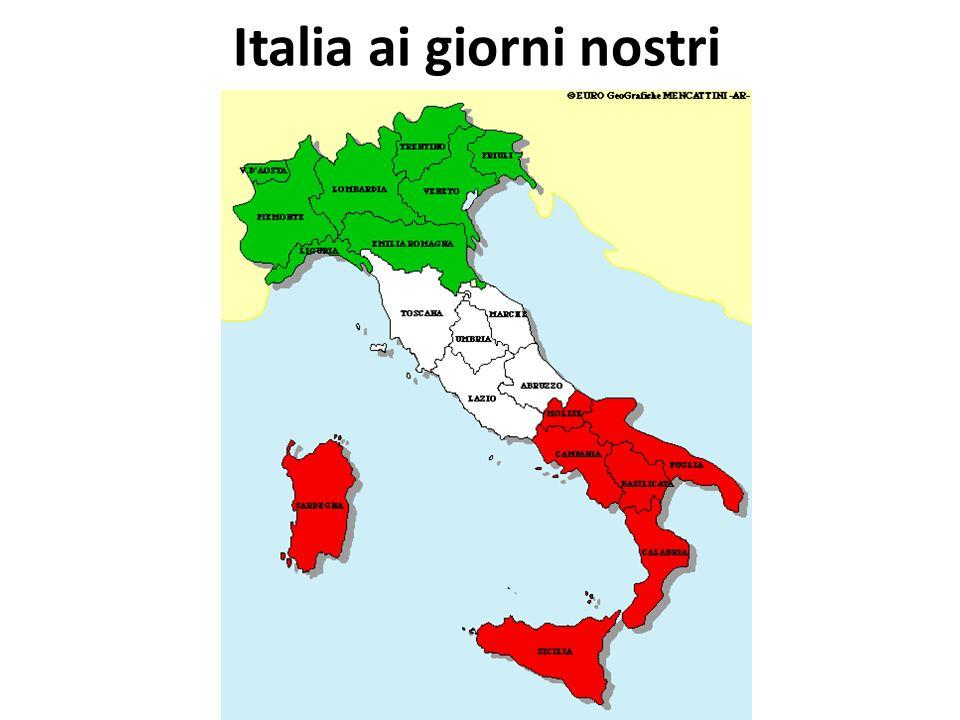 Italia ai giorni nostri