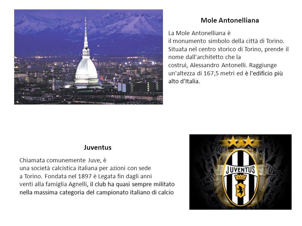 Mole Antonelliana è l'edificio più alto d'Italia La Mole Antonelliana è il monumento simbolo della città di Torino. Situata nel centro storico di Tori