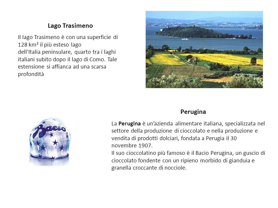Lago Trasimeno Il lago Trasimeno è con una superficie di 128 km² il più esteso lago dell'Italia peninsulare, quarto tra i laghi italiani subito dopo i