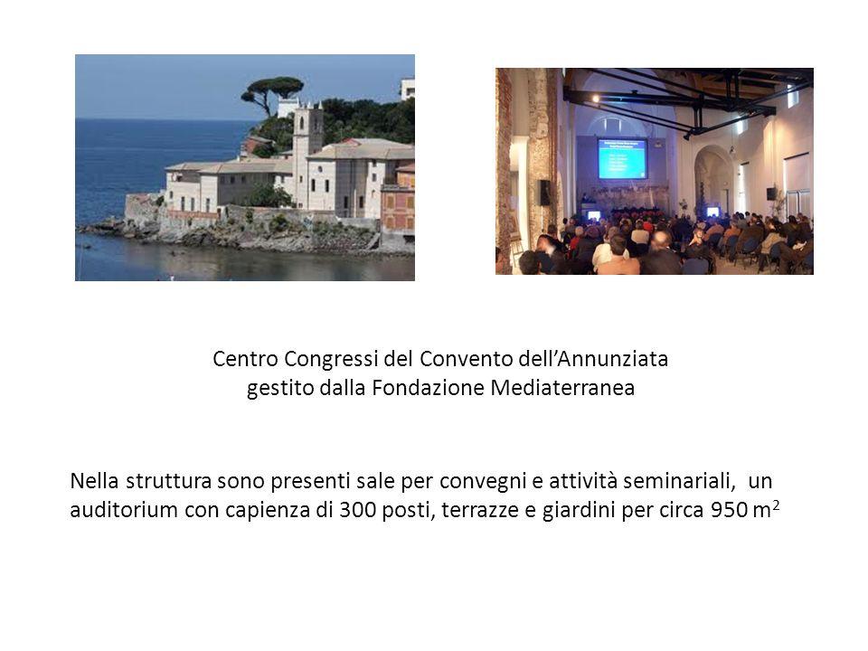 Centro Congressi del Convento dellAnnunziata gestito dalla Fondazione Mediaterranea Nella struttura sono presenti sale per convegni e attività seminar