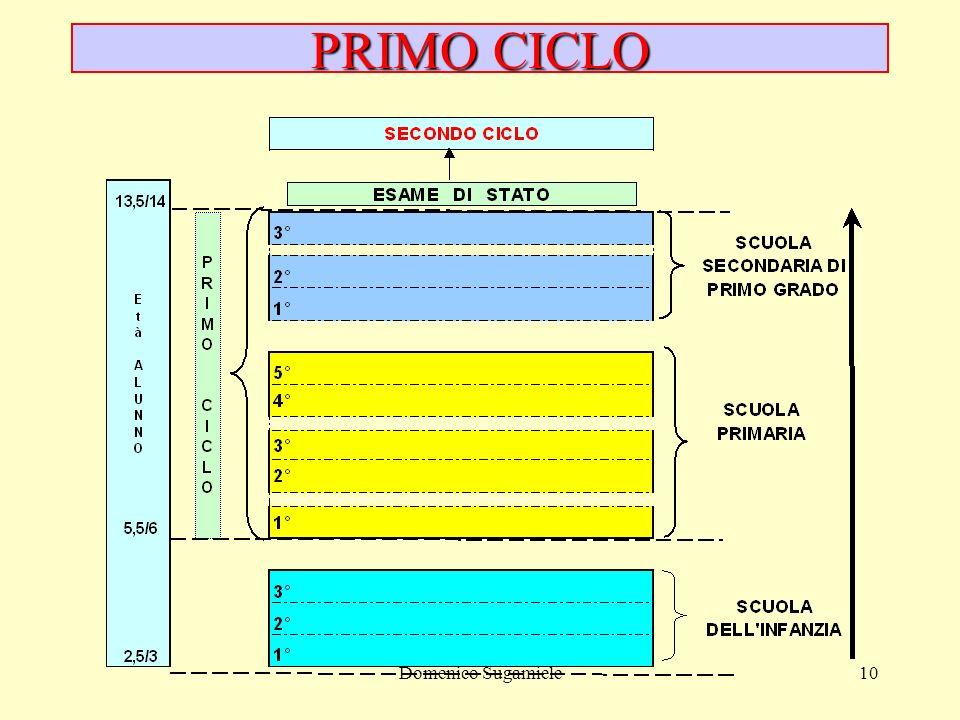 Domenico Sugamiele10 PRIMO CICLO