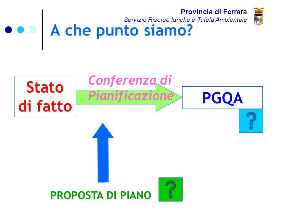Proposta di Piano (LR 20/00) Provincia di Ferrara Servizio Risorse Idriche e Tutela Ambientale Documento Preliminare Proposta di Valutazione di Sostenibilità Ambientale e Territoriale (VALSAT) + Proposta di Quadro Conoscitivo +