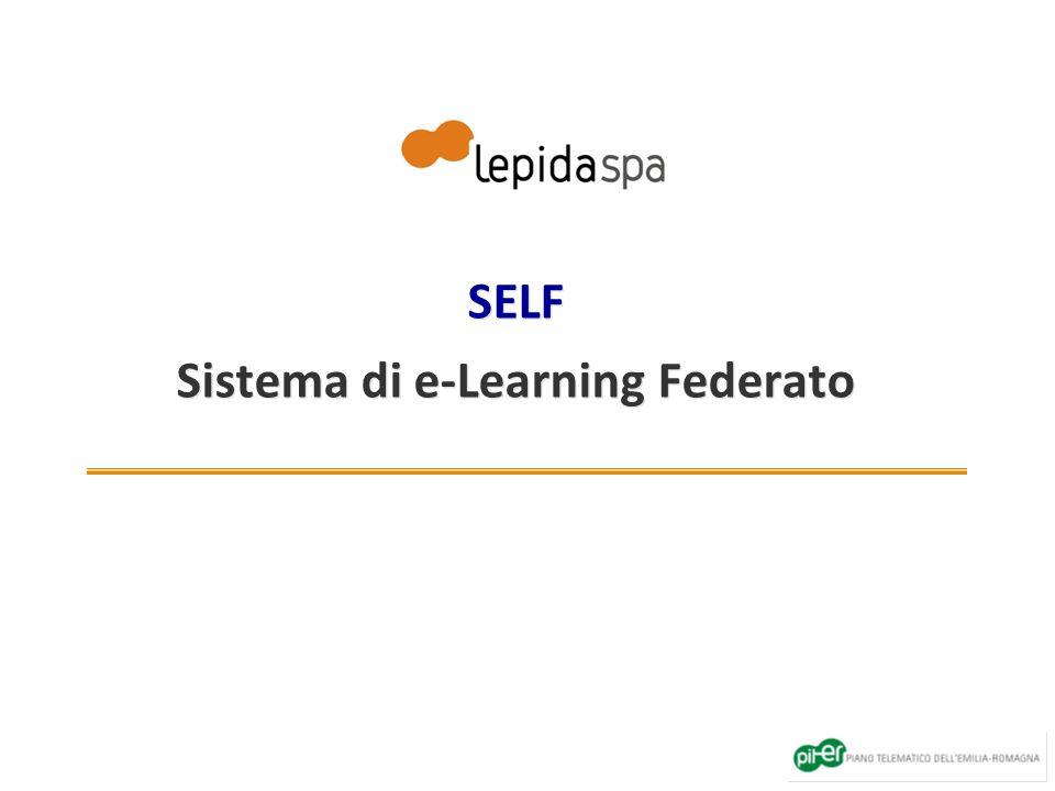 SELF Sistema di e-Learning Federato