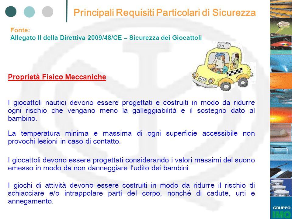 GRUPPO EN 71-3:2002 MIGRAZIONE DI ALCUNI ELEMENTI Prospetto 1, paragrafo 4, punto 4.1.