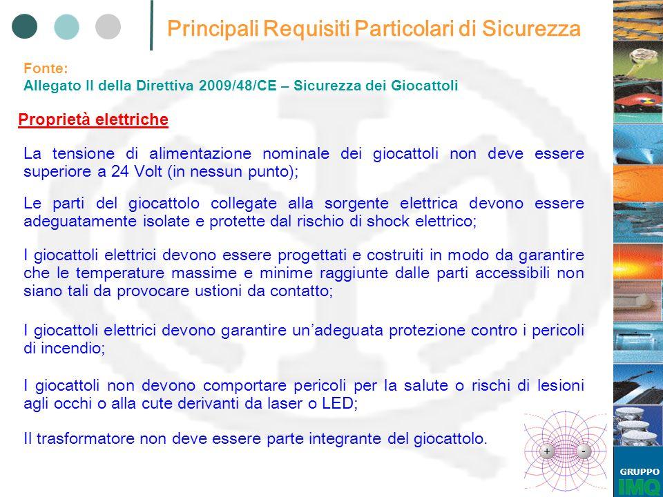 GRUPPO EN 71-3: 2002 MIGRAZIONE DI ALCUNI ELEMENTI I requisiti si applicano a tutte le parti che possono essere: Succhiate, Leccate, Ingoiate.