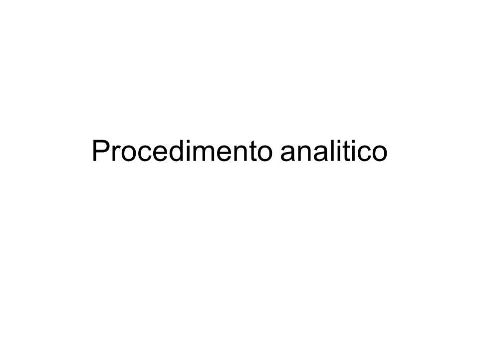 Procedimento analitico