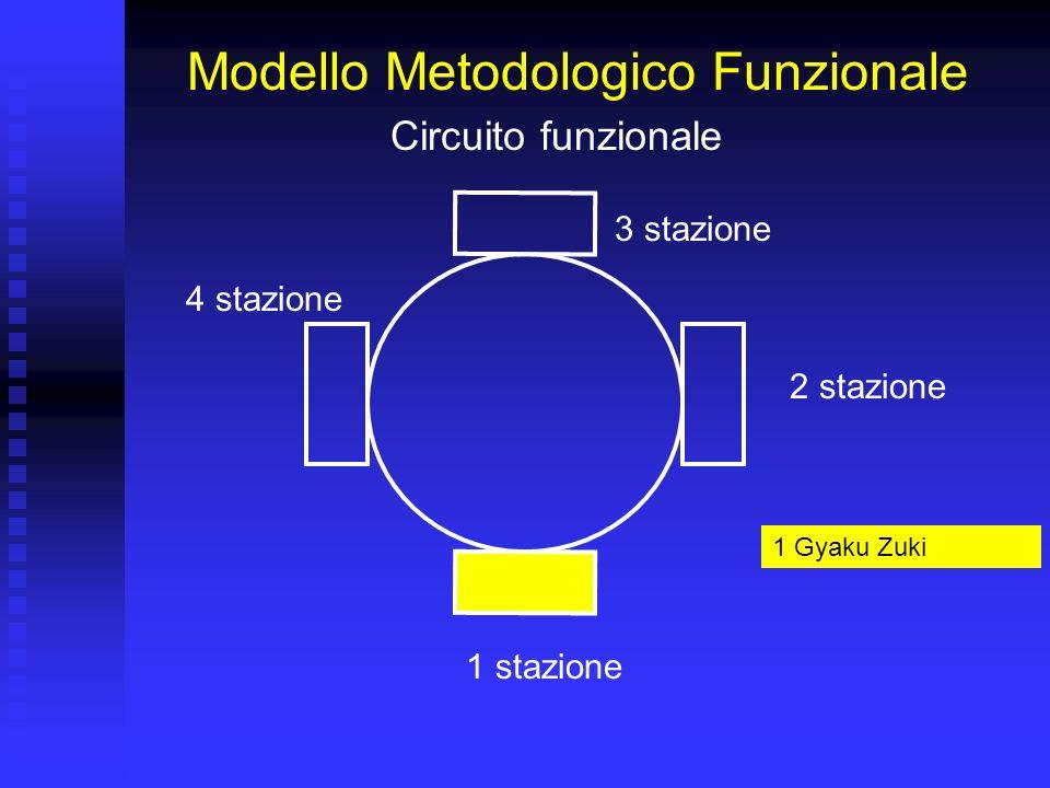 Modello Metodologico Funzionale 1 stazione 2 stazione 3 stazione 4 stazione Circuito funzionale