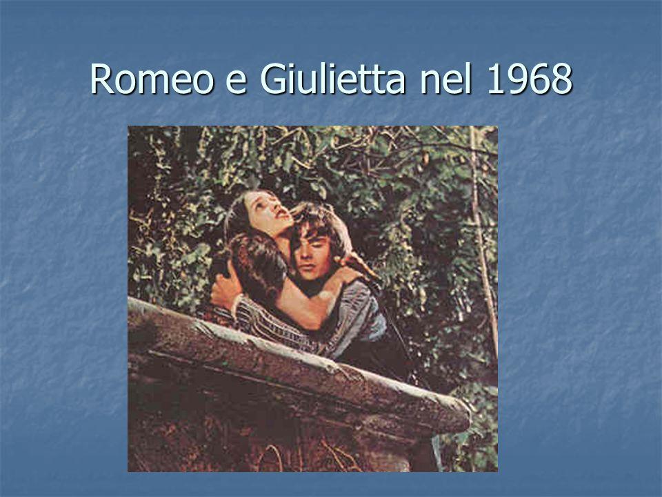 Romeo e Giulietta nel 1968