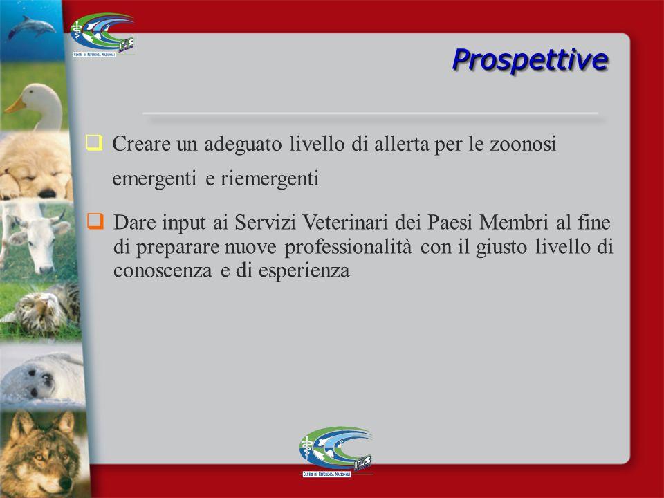 ProspettiveProspettive Sulla base del lavoro fatto, si rende necessario continuare a realizzare le attività previste nel Piano di sorveglianza Si rend
