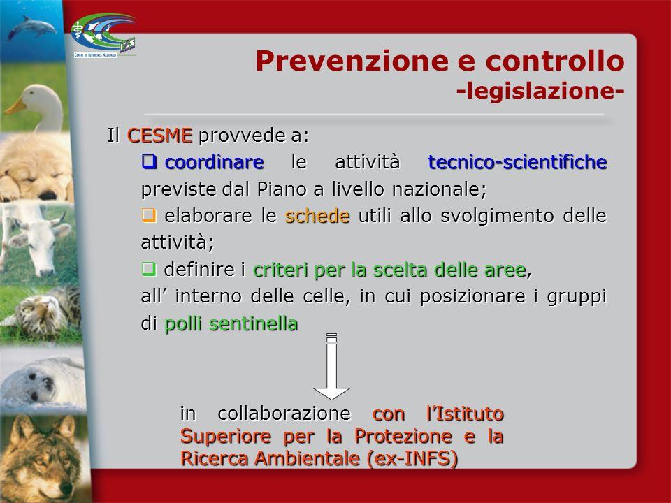 Decreto Ministero Salute 29 novembre 2007 Gazzetta Ufficiale N. 36 del 23 gennaio 2008 Prevenzione e controllo -legislazione- Definizione del Piano di