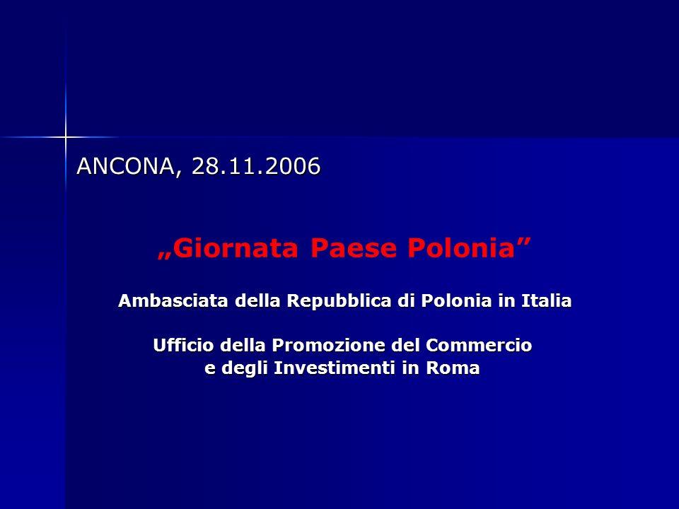 ANCONA, 28.11.2006 ANCONA, 28.11.2006 Ambasciata della Repubblica di Polonia in Italia Ambasciata della Repubblica di Polonia in Italia Ufficio della