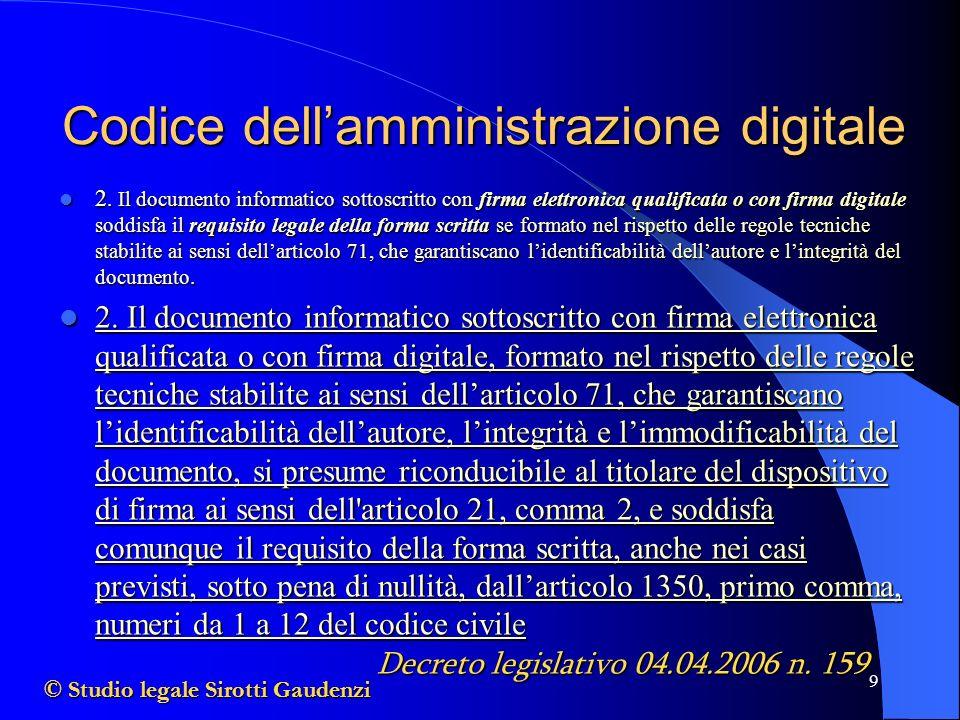 9 Codice dellamministrazione digitale 2.