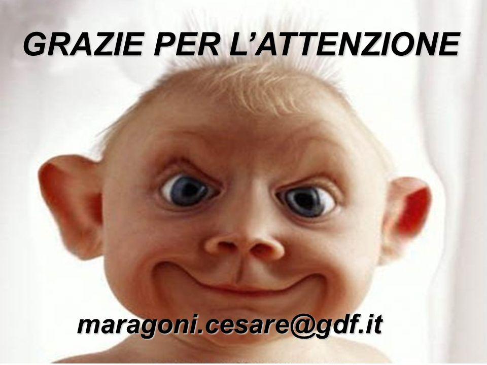 GRAZIE PER LATTENZIONE maragoni.cesare@gdf.it
