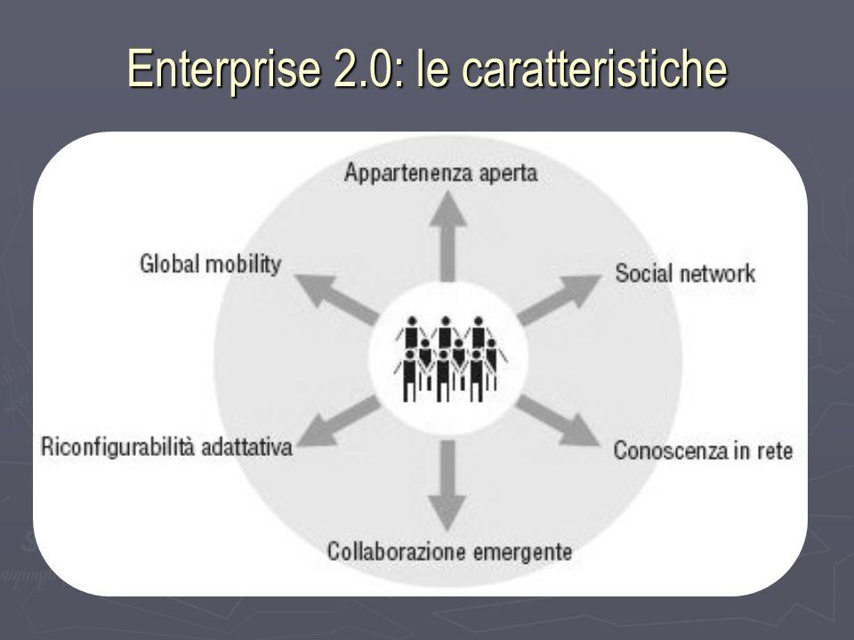 Enterprise 2.0: le caratteristiche