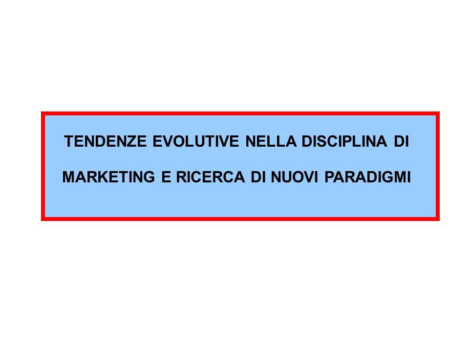 * sviluppo di nuove applicazioni:- il marketing sociale - mark.