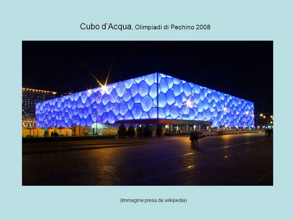 Cubo dAcqua, Olimpiadi di Pechino 2008 (Immagine presa da wikipedia)