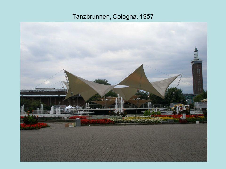 Tanzbrunnen, Cologna, 1957
