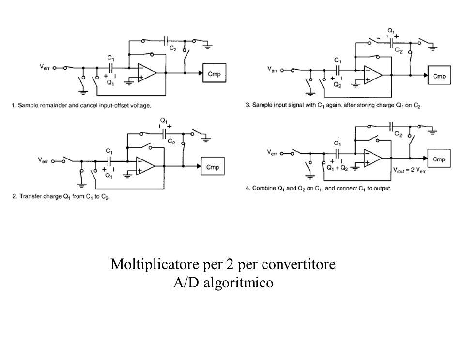 Moltiplicatore per 2 per convertitore A/D algoritmico
