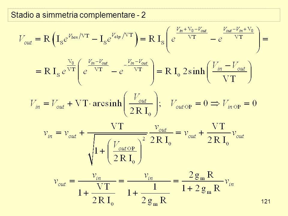 121 Stadio a simmetria complementare - 2