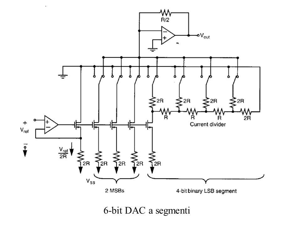 6-bit DAC a segmenti