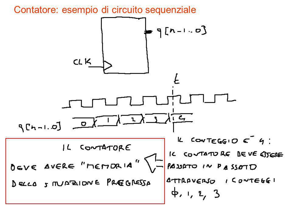 2 Contatore: esempio di circuito sequenziale