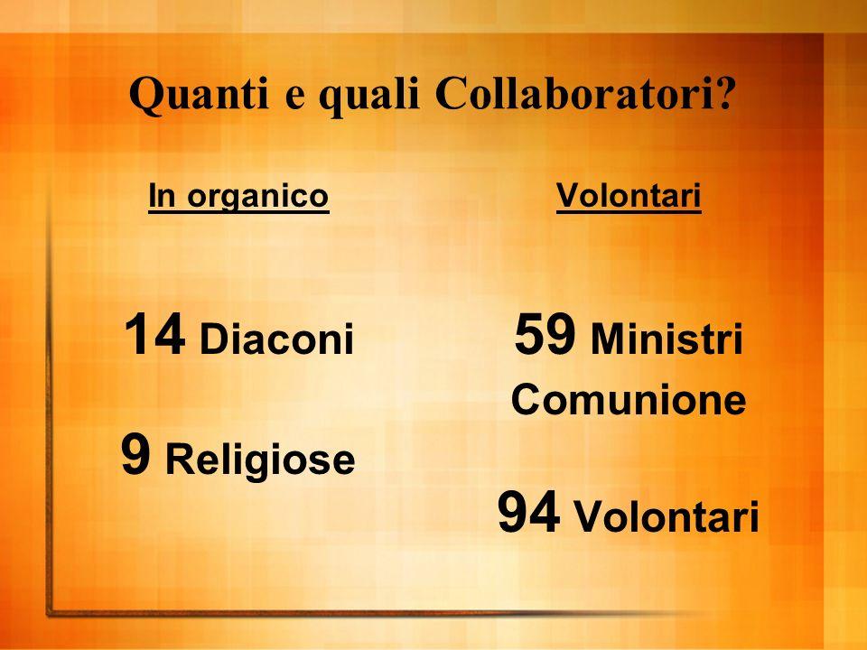 Quanti e quali Collaboratori.