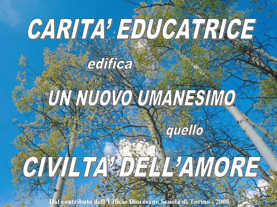 Dal contributo dellUfficio Diocesano Scuola di Torino - 2008