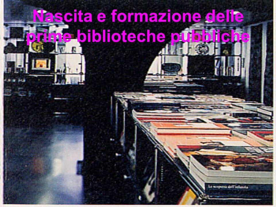 Nascita e formazione di principali musei dItalia