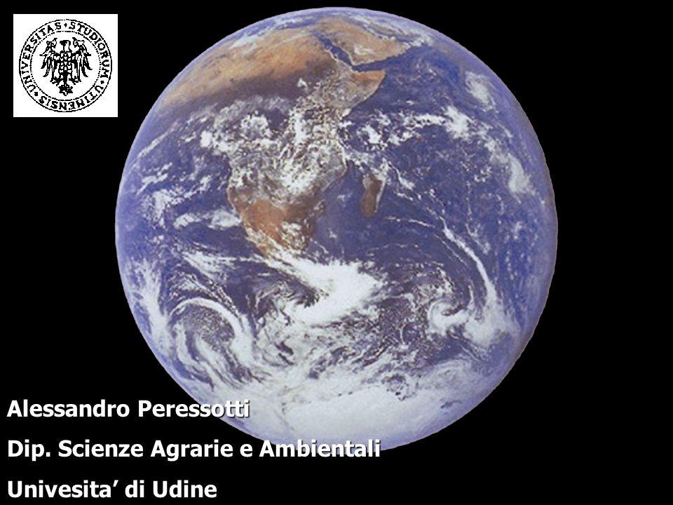 Alessandro Peressotti Dip. Scienze Agrarie e Ambientali Univesita di Udine