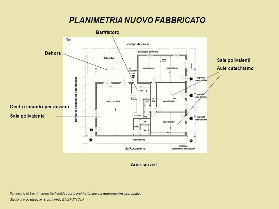PROSPETTI NUOVO FABBRICATO Prospetto su via Roccavione Immagine: Residenza Zorn (Chicago) Arch.