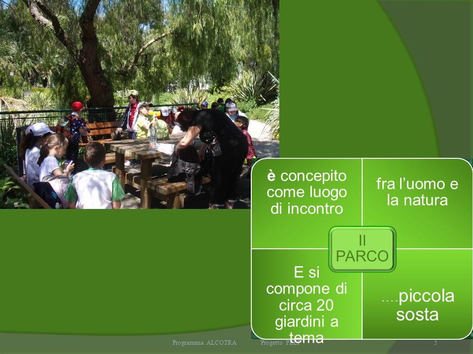 5 è concepito come luogo di incontro fra luomo e la natura E si compone di circa 20 giardini a tema …. piccola sosta Il PARCO