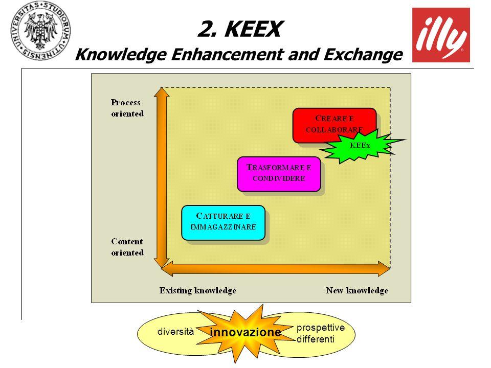 innovazione diversità prospettive differenti 2. KEEX Knowledge Enhancement and Exchange