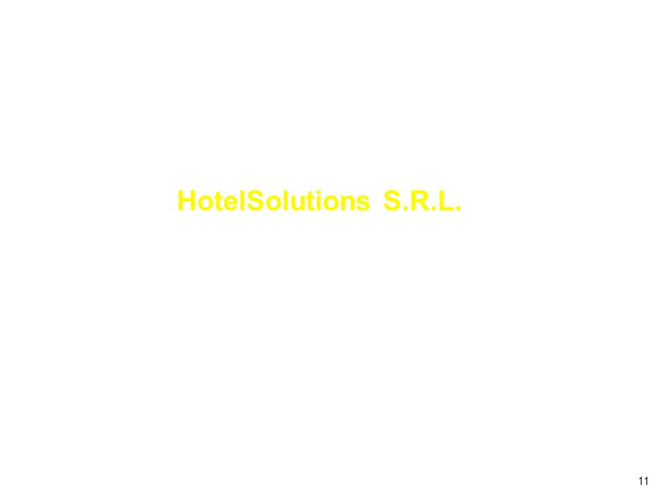 11 HotelSolutions S.R.L.