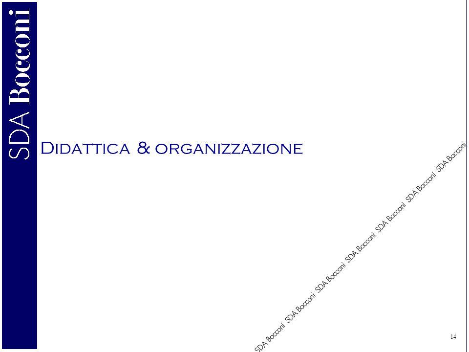14 Didattica & organizzazione