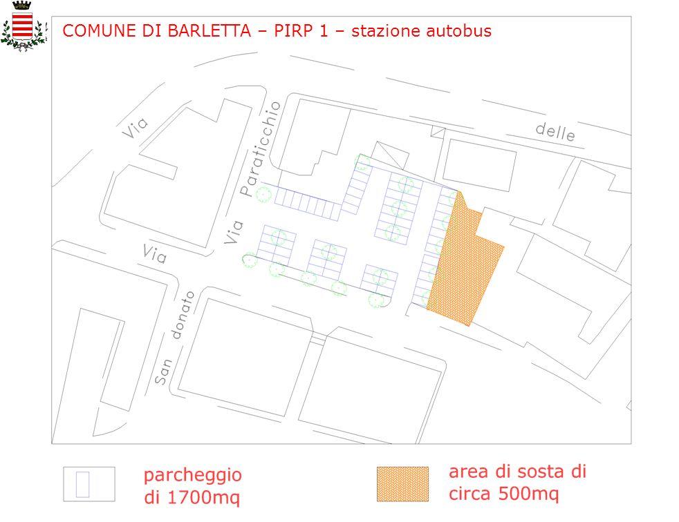COMUNE DI BARLETTA – PIRP 1 – stazione autobus
