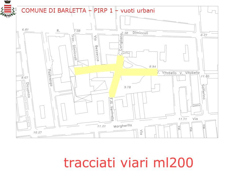COMUNE DI BARLETTA – PIRP 1 – vuoti urbani